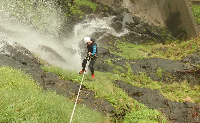 Canyoning Agua Alto